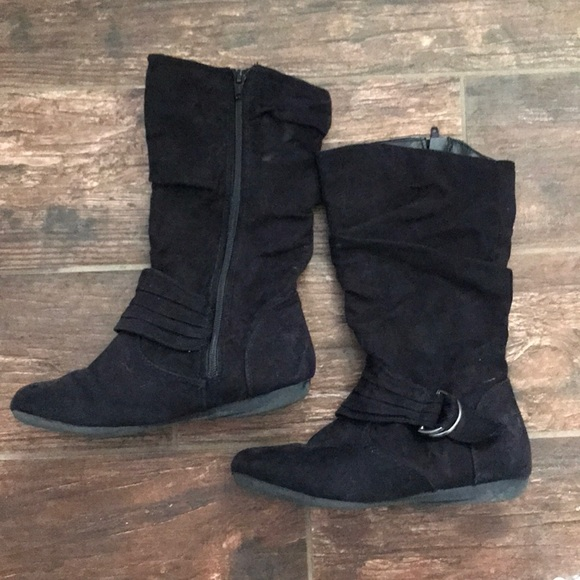 Other - 👢Little Girls Black Boots Size 3 👢